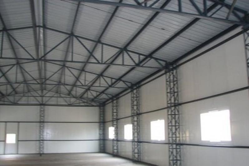 Estruturas Metálica para Mezanino Taboão da Serra - Estrutura Metálica para Mezanino