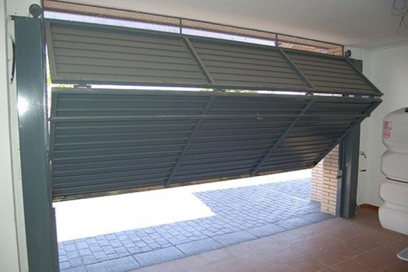 Instalação de Portão Basculante para Garagem Vila Maria - Portão em Ferro