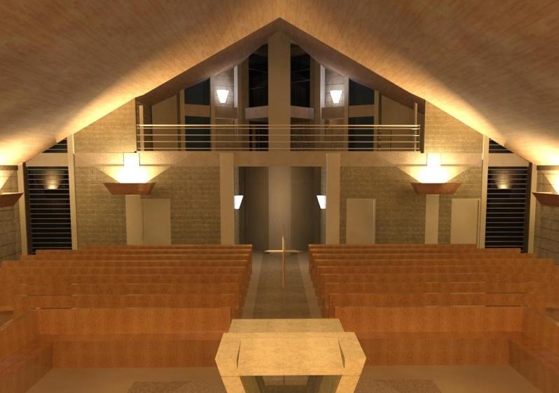 Mezanino para Igreja Parque Ibirapuera - Mezanino para Igreja