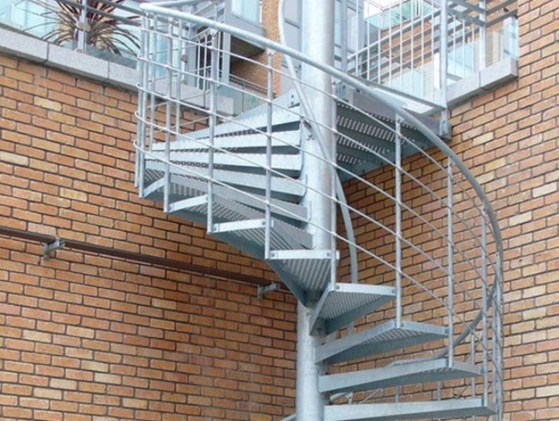 Onde Tem Escada Caracol Aço Carandiru - Escada de Aço para Empresas