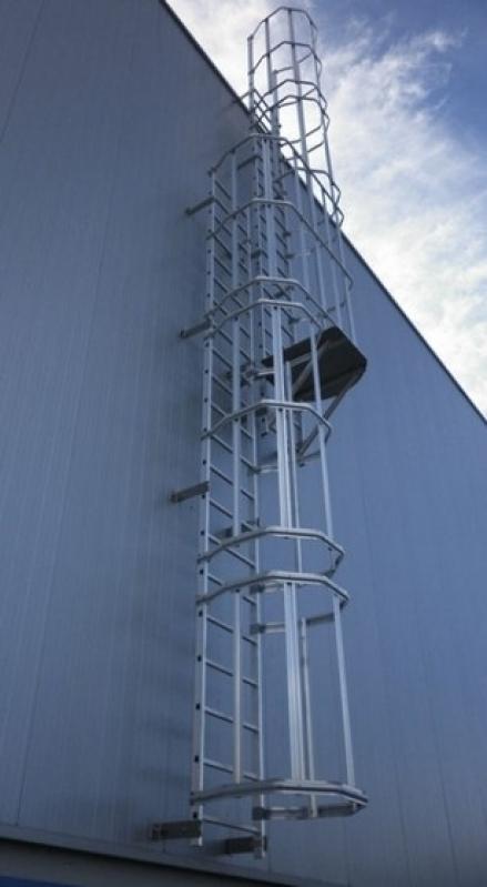 Onde Tem Escada Marinheiro São Domingos - Escada de Aço para Empresas