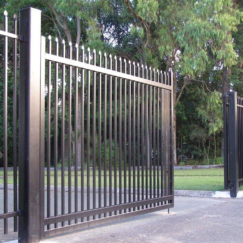 Portão de Correr Duplo Parada Inglesa - Portão em Ferro