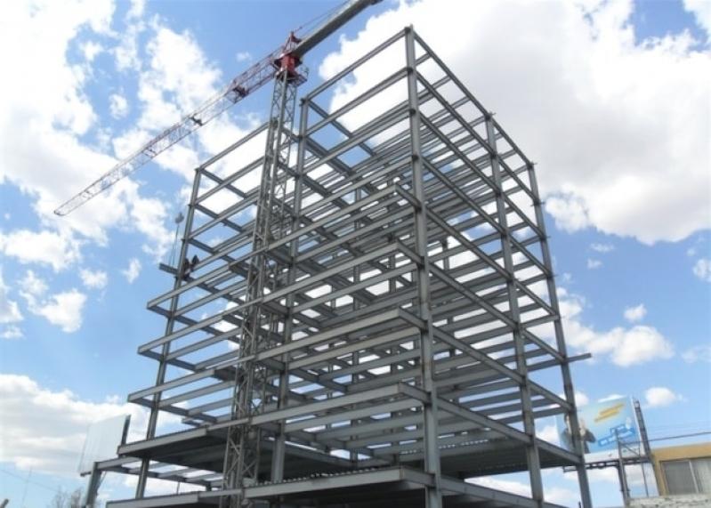 Quanto Custa Estrutura de Ferro para Mezanino Jardim Iguatemi - Estrutura Metálica Mezanino