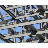 cobertura em estrutura metálica preço m2 Jardim Guarapiranga
