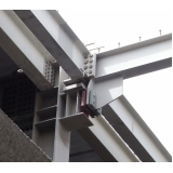 cobertura em estrutura metálica Vila Leopoldina