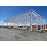 cobertura estrutura metálica Campo Limpo