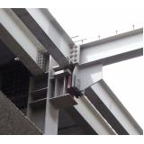 empresa de estruturas metálicas ligações parafusadas Parque do Carmo