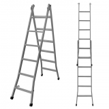 escada aço extensiva