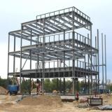 estrutura de ferro para mezanino Instituto da Previdência