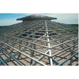 estrutura metálica para cobertura preço m2 Marapoama