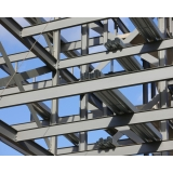 estruturas metálicas ligações parafusadas Cidade Líder