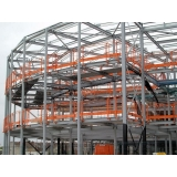 estruturas metálicas para edifícios Hortolândia