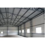 fabricante de estrutura de cobertura metálica Cantareira