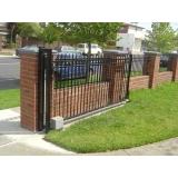 instalação de portão de correr duplo Itatiba