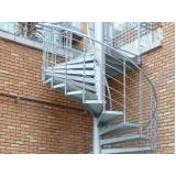 onde tem escada caracol aço Alvarenga