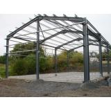 orçamento de estruturas metálicas leves telhados Limão