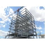 orçamento de estruturas metálicas para edifícios Alto de Pinheiros