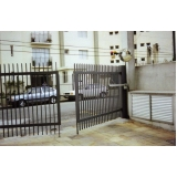 portão automático pivotante encomendar Vila Alexandria