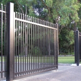 portão de correr de aço Suzano