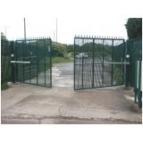 portão industrial Limão