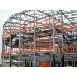 projeto de estrutura metálica mezanino Itaquera